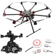 DJI SPREADING WINGS S1000+ WITH Z15-GH4 (HD) GIMBAL AND A2 FLIGHT CONTROLLER