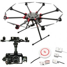 DJI SPREADING WINGS S1000+ WITH Z15-N7 GIMBAL AND A2 FLIGHT CONTROLLER