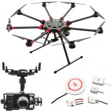 DJI SPREADING WINGS S1000+ WITH BMPCC GIMBAL AND A2 FLIGHT CONTROLLER